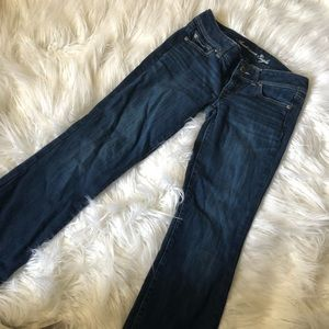American Eagle Size 4 slim boot jeans
